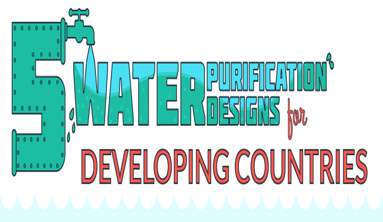 Five Water Purification Designs #infographic