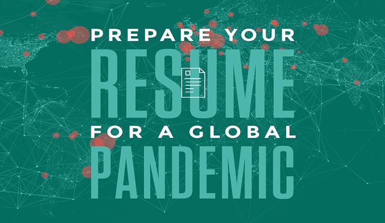 7 Quick Tips to Preparing Your Coronavirus World Resume #infographic