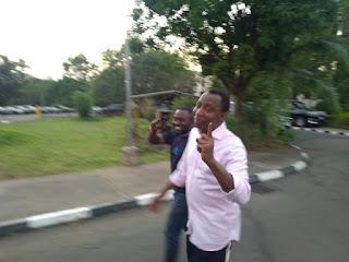 Photos Of Sowore As He Regains Freedom