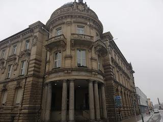 Полицейский участок в центре Карлсруэ, Баден-Вюртемберг