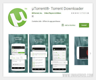 uTorrent Smartphone Android