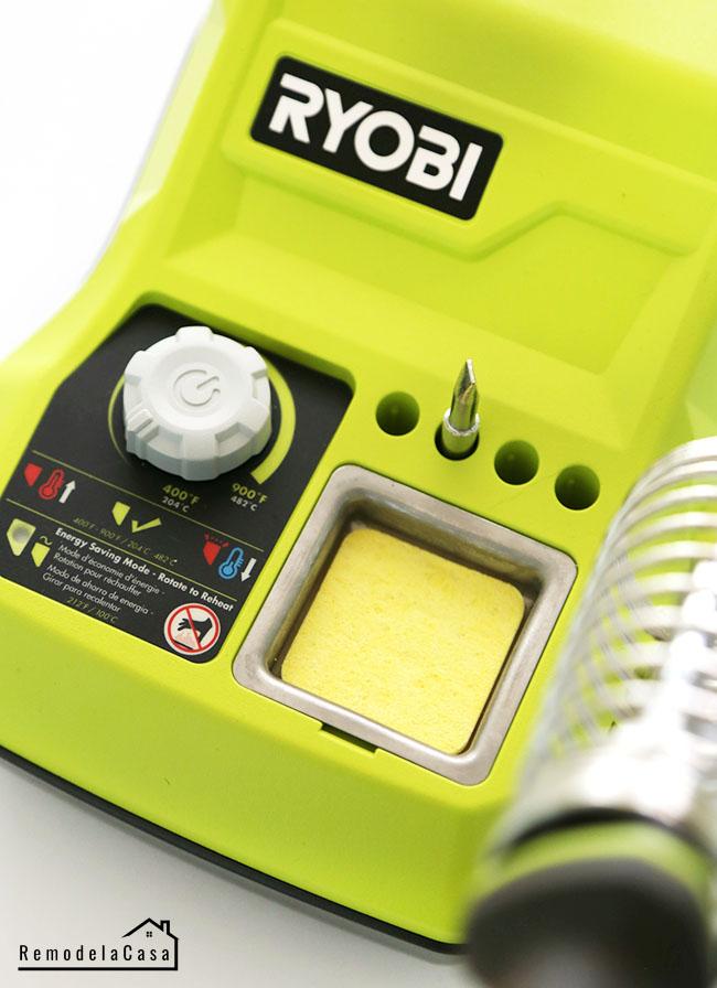 #RYOBI 18V ONE+™ 45W HYBRID soldering iron 7 uses