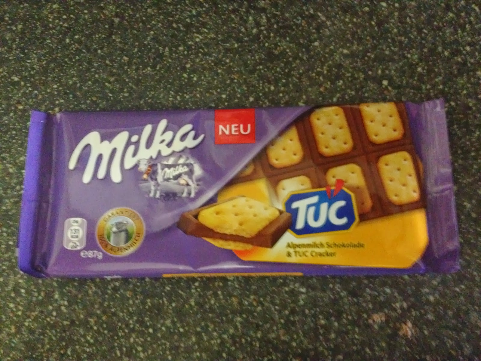A Review A Day Todays Review Milka With Tuc