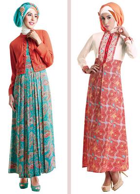 Model Busana Gamis Muslim Untuk Pesta Pernikahan Modern