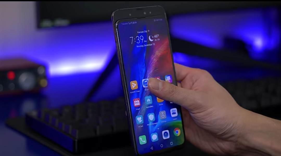 Huawei Honor Magic 2 front facing cameras