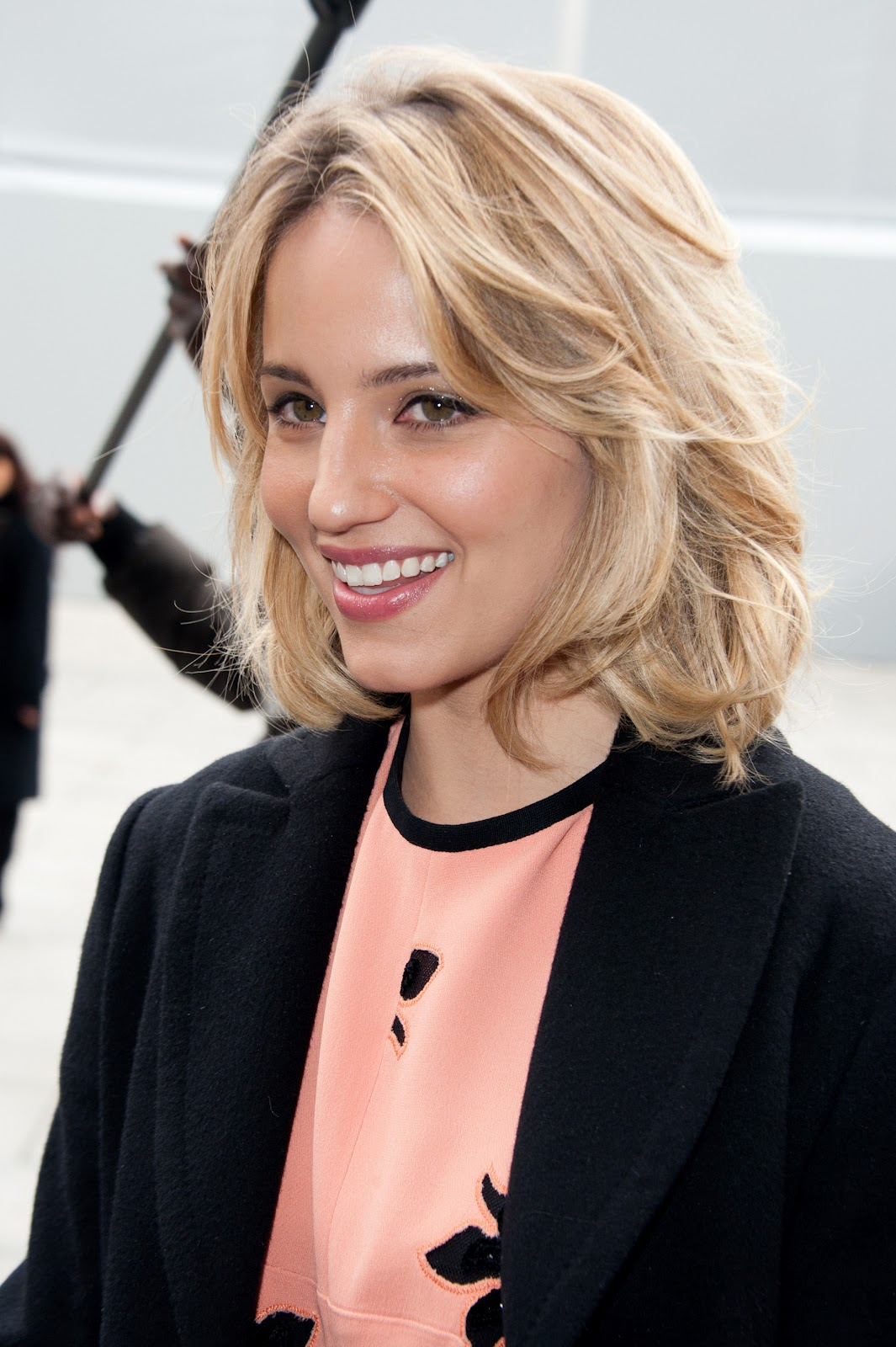Dianna Agron  Louis Vuitton Fashion Show in Paris