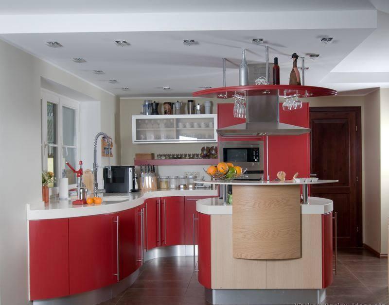 modern red kitchen designs  dwell of decor