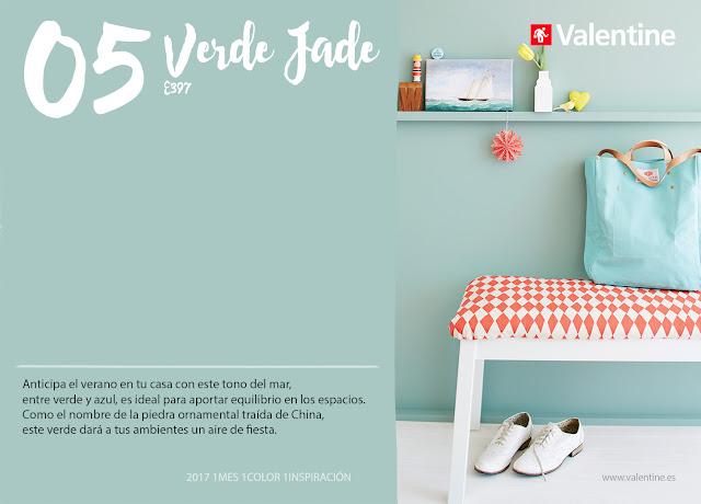 Mayo: Interiores en Verde Jade