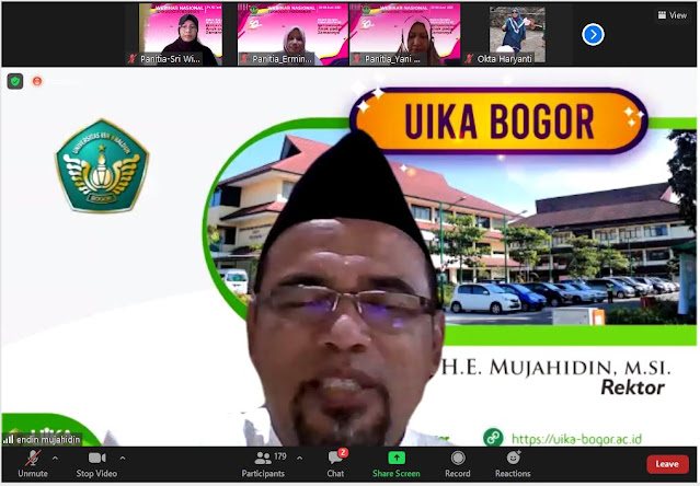 Rektor UIKA Ending Mujahidin