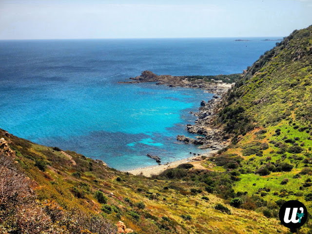 Hidden beach by the road | Sardinia, Italy | wayamaya
