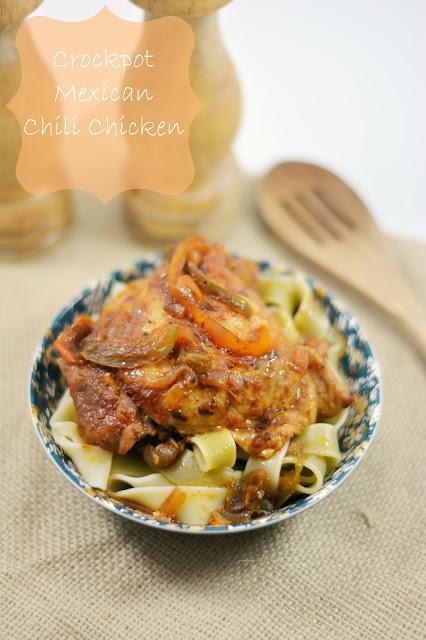 crockpot mexican chicken recipe