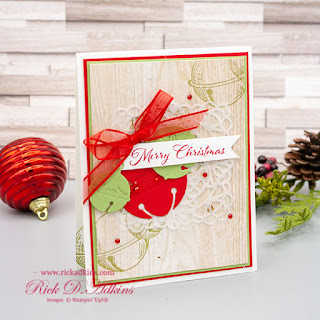 It's day 7 of my 15 Days of Christmas!  Today the bells are ringing with the Cherish the Season Bundle click to learn about today' ordering special.