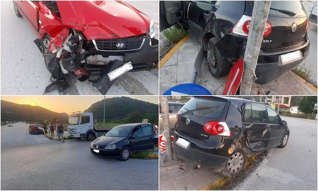 Θεσπρωτία: Τροχαίο ατύχημα με τραυματισμό στο Καρτέρι