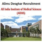 AIIMS Deoghar Professor Recruitment 2019