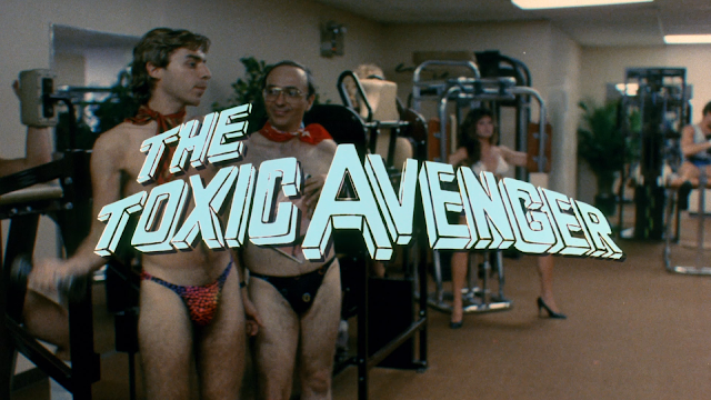 The Toxic Avenger Title Card