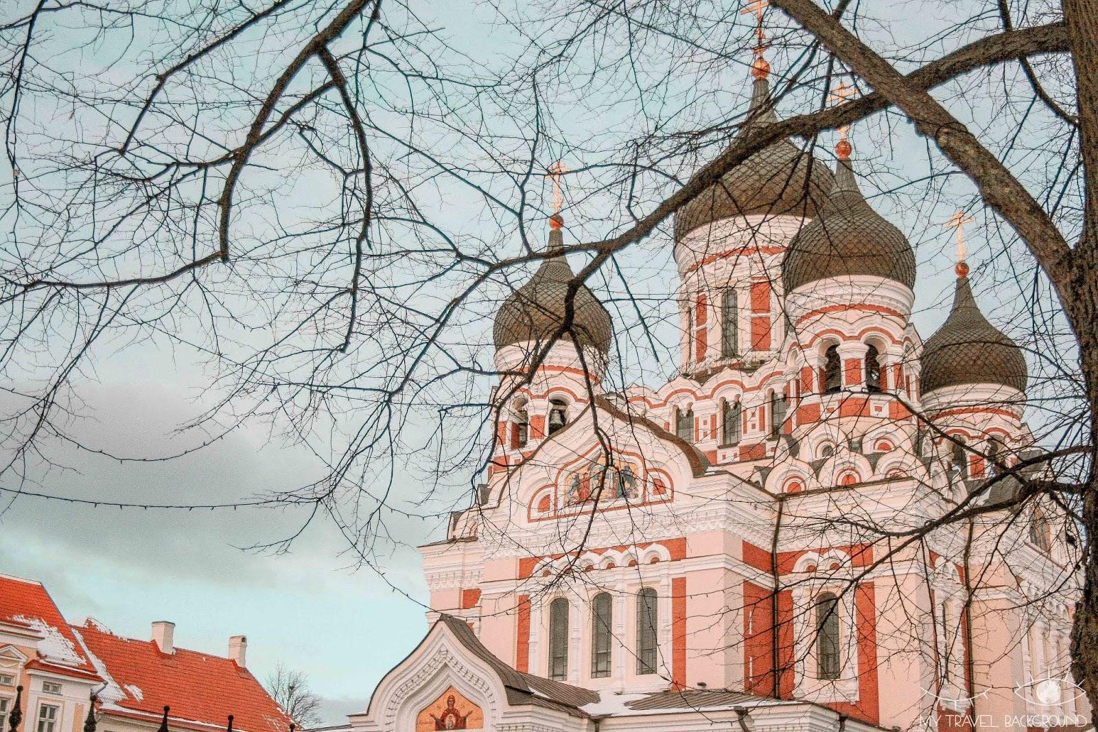 My Travel Background : Escale à Tallinn en Estonie, la perle de la Mer Baltique - Cathedrale Orthodoxe Alexander Nevsky