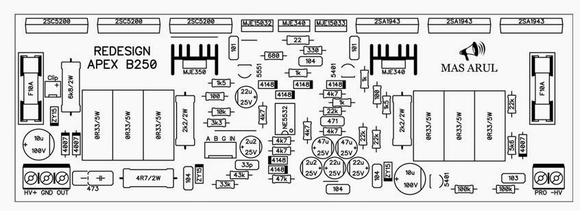 Power Amplifier Apex B250