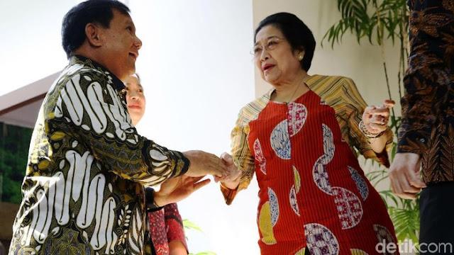 Batu Tulis Tinggal Nisan, Gerindra-PDIP 'Koalisi' Sejak Prabowo Masuk Kabinet