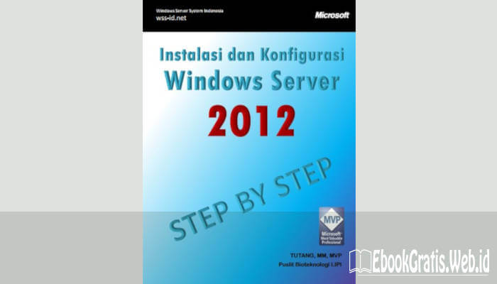 Ebook Mengenal Windows Server 2012 (Jilid 1)