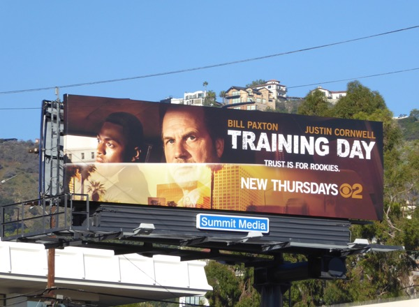 Training Day series premiere billboard