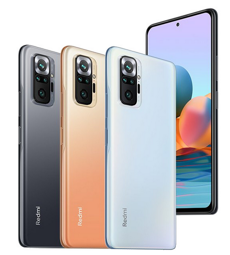 Xiaomi Redmi Note 10 Pro, Pro Max Launched with FHD+ AMOLED 120Hz Display, Snapdragon 732G