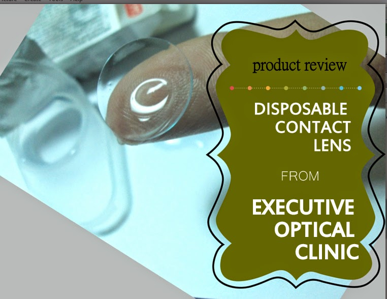 Executive Optical Disposable Contact Lens #productreview