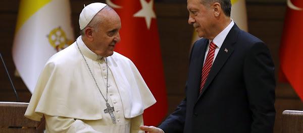 Ερντογάν: Κάλεσε Τον Πάπα Φραγκίσκο Στην Προσευχή Της Παρασκευής Στην Αγία Σοφία