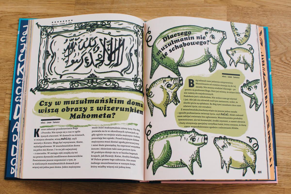 różne religie książka dla dzieci