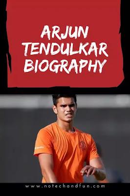 Arjun Tendulkar's Biography in English, Age, Height, GF