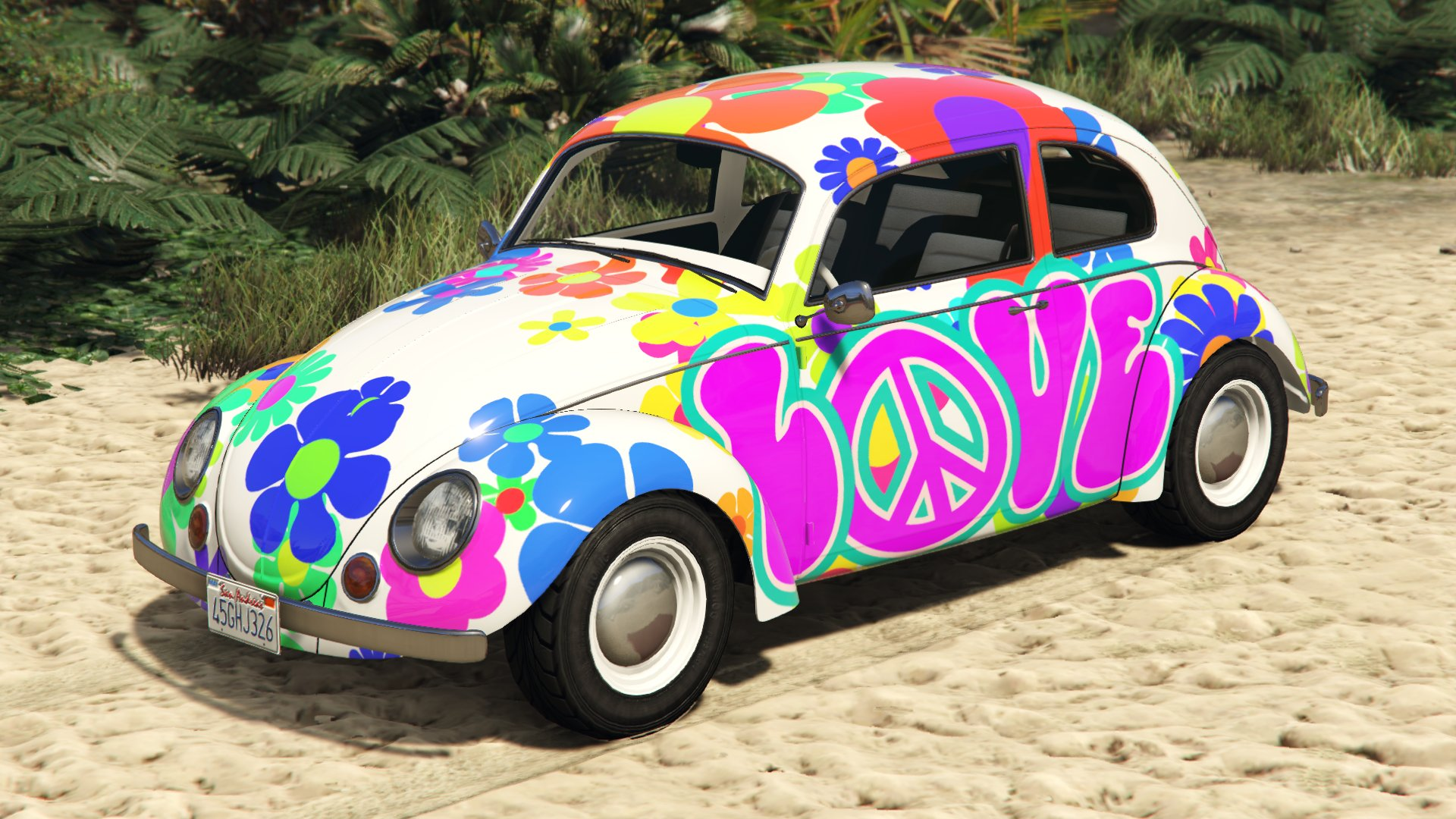 GTA Online: How to unlock the cool hippie beetle