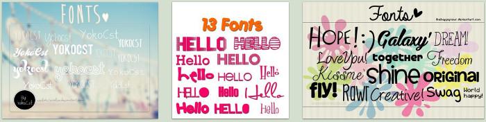 http://www.deviantart.com/browse/all/?q=fonts