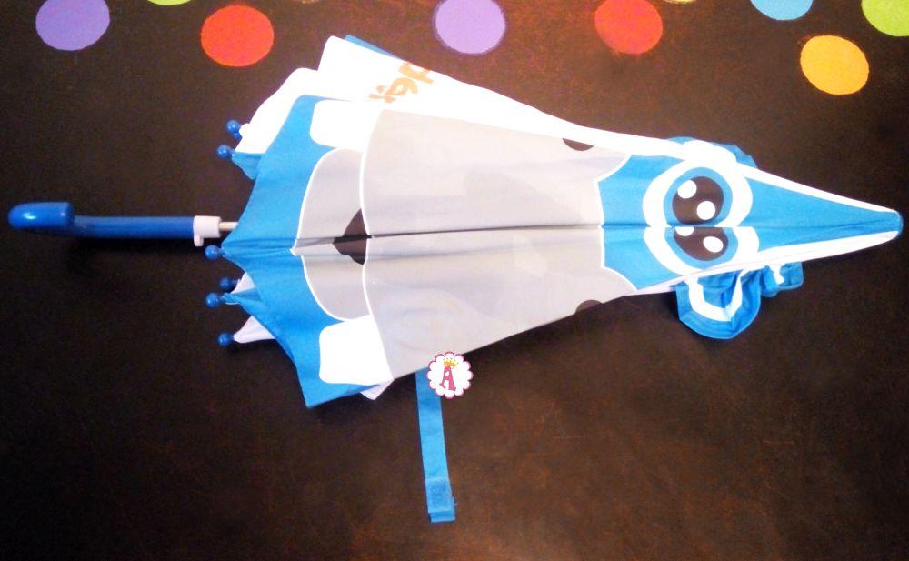 Зонтик с мордочкой бегемота Kinder Surprise