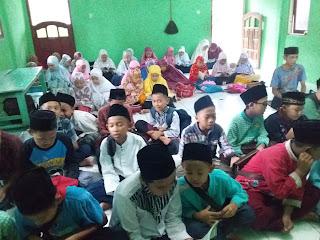 Satu Warga Positif Corona,TPQ dan Madin Irsyadul 'awwam Sidanegara Hentikan Pembelajaran.