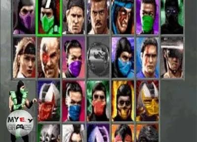 شرح شخصيات لعبة مورتال كومبات 3 Mortal Kombat للكمبيوتر
