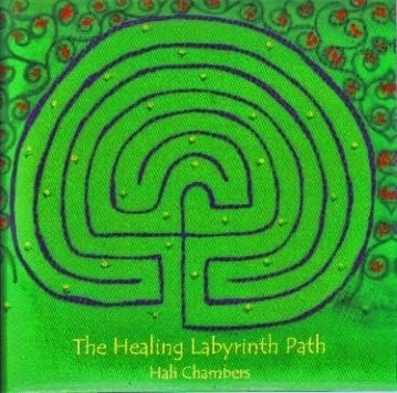 Take a walk along the healing labyrinth path . . .