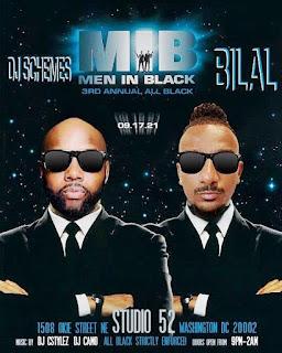Men In Black: 3rd Annual All Black