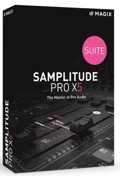 MAGIX Samplitude Pro X5 Suite 16.0.1.28 poster box cover