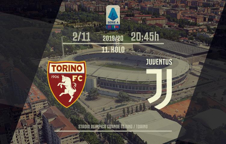 Serie A 2019/20 / 11. kolo / Torino - Juventus, subota, 20:45h