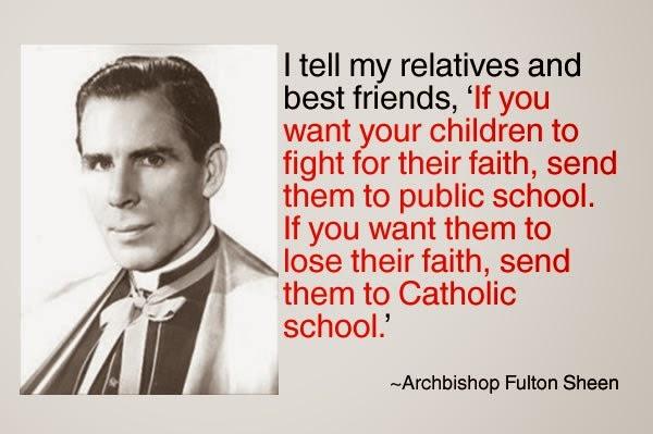 Bishop Sheen Quotes: Offerimus Tibi Domine: Archbishop Fulton Sheen