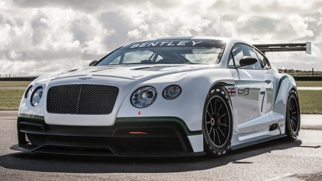 bentely continental gt3 front