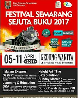 Festival Semarang Sejuta Buku 2017