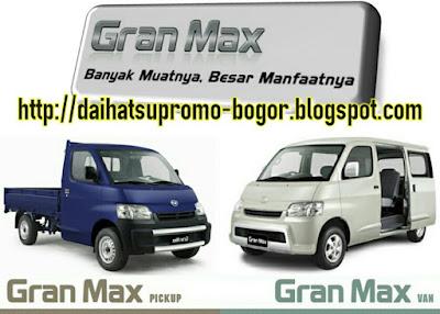Daihatsu granmax, Gran max, Mobil Daihatsu granmax, Mobil gran max, Mobil daihatsu, New gran max, Gran max bogor,