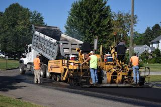 Construcción de Pavimento Flexible con Terminadora