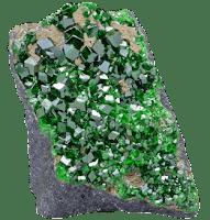 granate uvarovita mineral gema | Foro de minerales