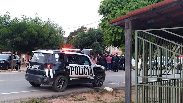 Crato-  Operação policial realiza abordagem de veículo suspeito no distrito Dom Quintino