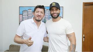 Gusttavo Lima é convidado para se candidatar pelo PSC em Goiás