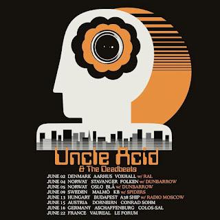 Uncle Acid & The Deadbeats European tour 2019