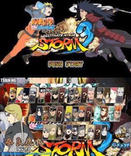 Naruto Senki Mod Ninja Storm 3 v2