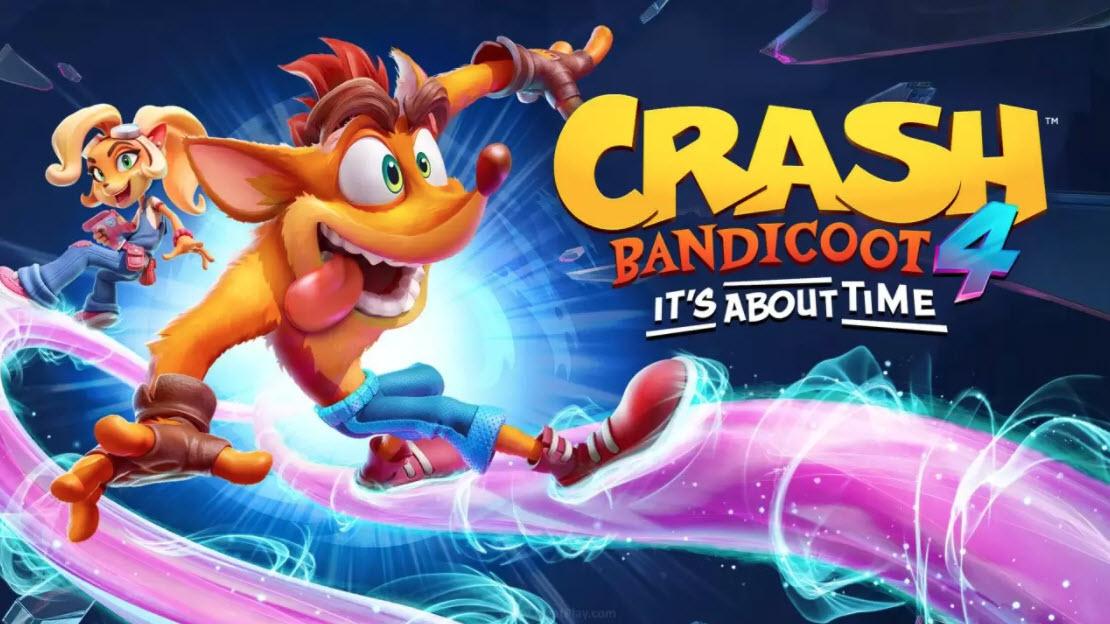 Review Crash Bandicoot 4 - It's About Time: Panic Stops Dead!