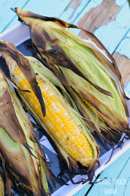 Sunshine Sweet Corn from Florida is fresh and in season NOW! #HuskYeah #IC #ad